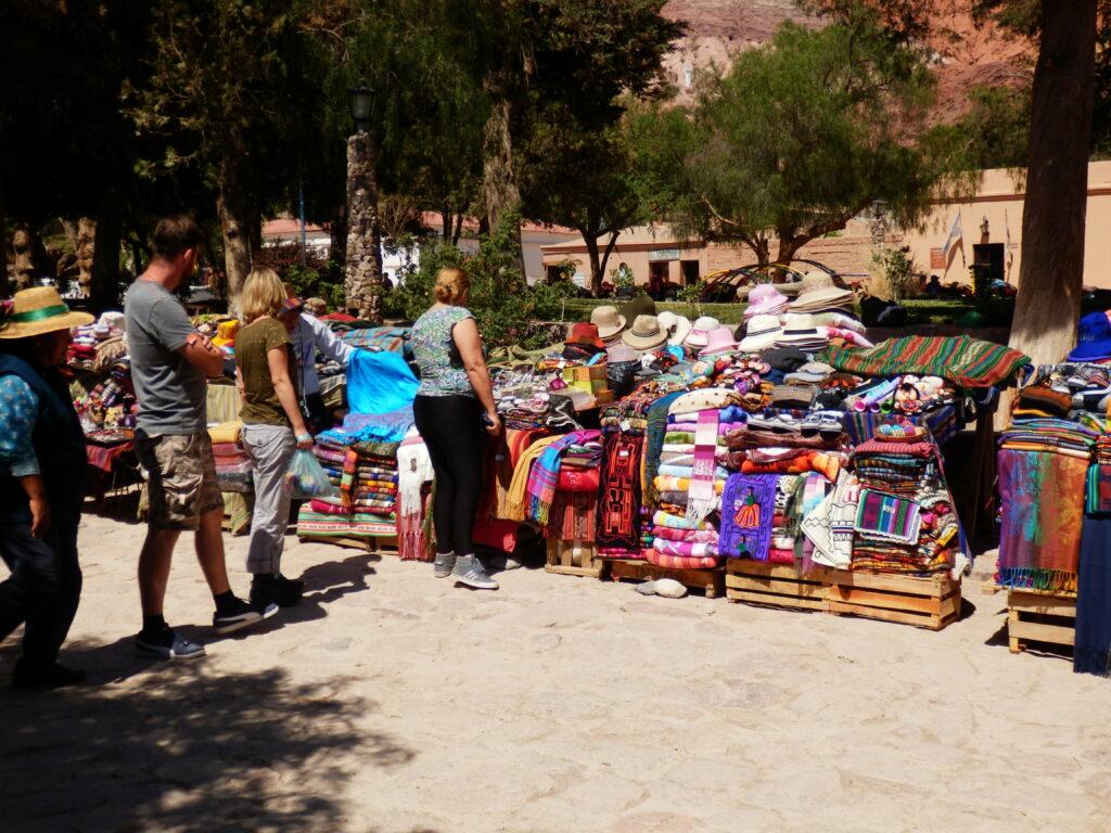 Market in Purmamarca, Jujuy
