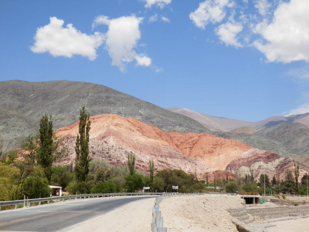 Seven coloured hill in Purmamaca