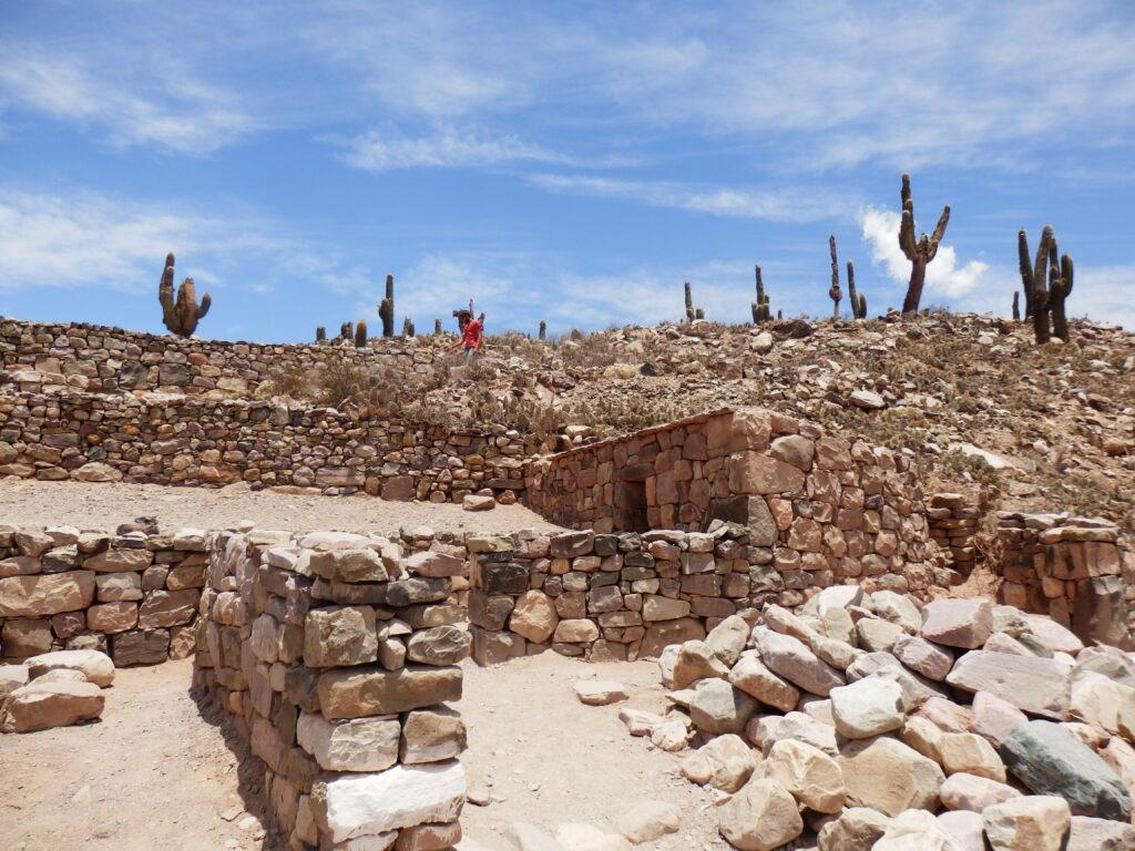 Pre-Incan ruins in Tilcara